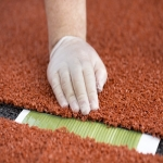 Artificial Clay Court Maintenance in Aberffrwd 8