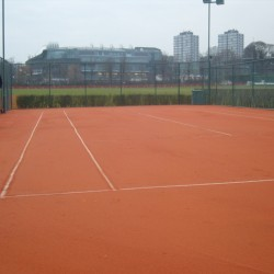 Synthetic Clay Tennis Courts in Abererch 10