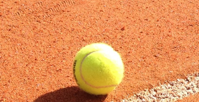 Synthetic Clay Surfacing in Aller